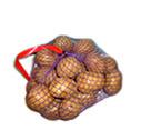 Упаковка картофеля— сетка-клипса