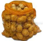 Упаковка картофеля— сетка-мешок
